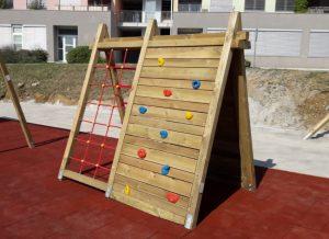 lesena otroška igrala